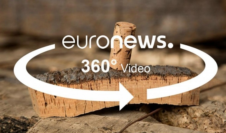 A 360 video story on Climate Change Impacts on Wine Cork with Euronews