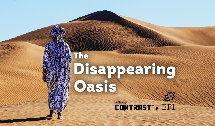 The Disappearing Oasis: a Virtual Reality Film on Climate Change with Contrast VR