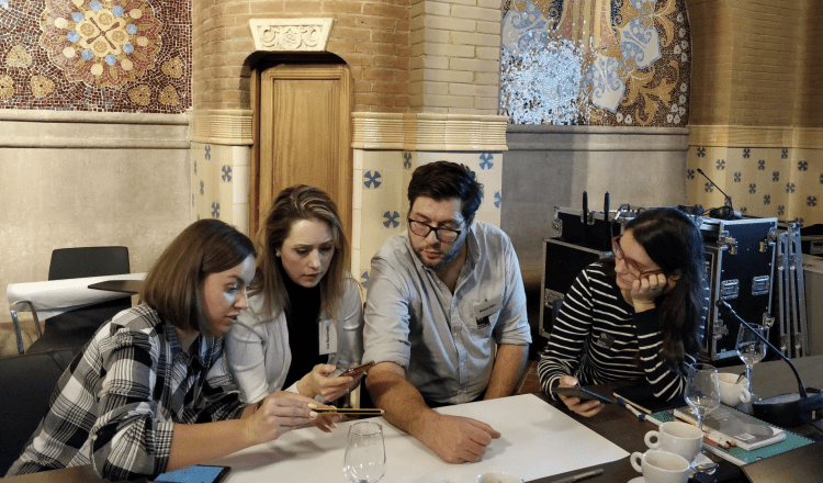 Solution Hack for Journalists [Barcelona 2018]: Masterclass on the Disruptive Design Method for Climate Solution Reporting